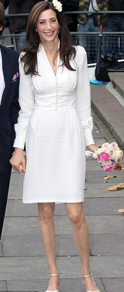 Stella McCartney designed a dress for Nancy Shevell, her stepmother for her marriage to Paul McCartney, also in 2011.