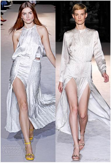 And finally, these are some runway looks from the Stella McCartney bridal collection.