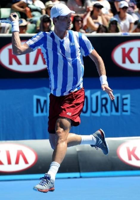 Berdych at the 2014 Australian Open